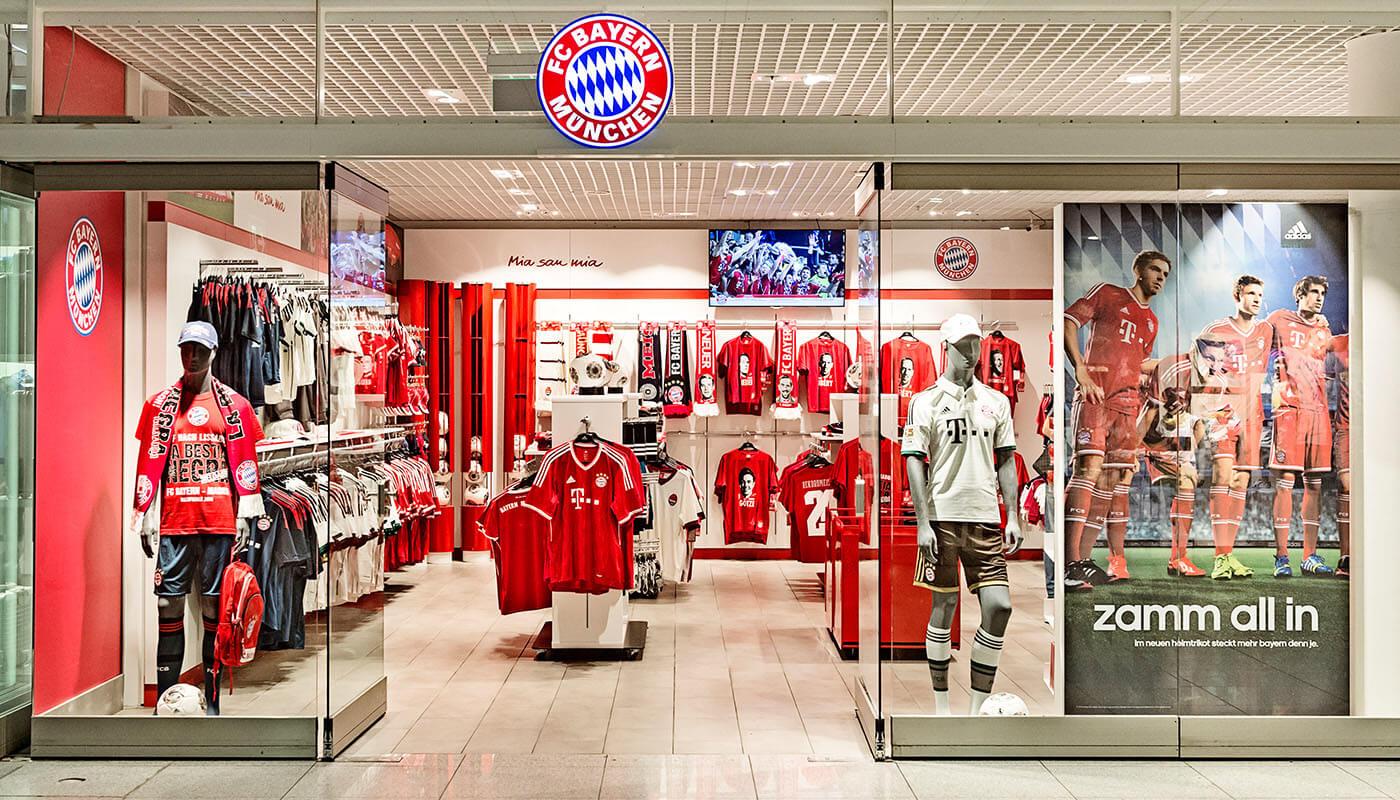FC Bayern Store: Offizieller Fan Shop des FC Bayern München