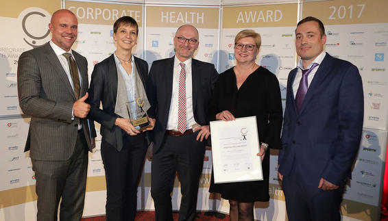 Pressebild: Corporate Health Award