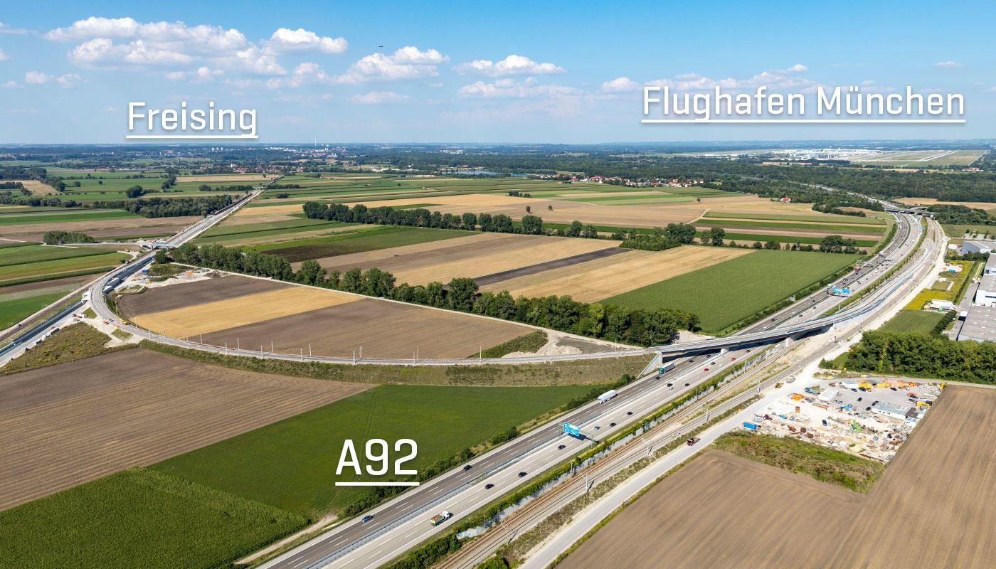Neue Wege Zum Airport Flughafen München