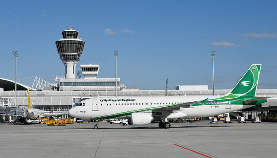 Erstflug Iraqi Airways