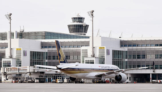 Three times per week Singapore Airlines will depart from Munich